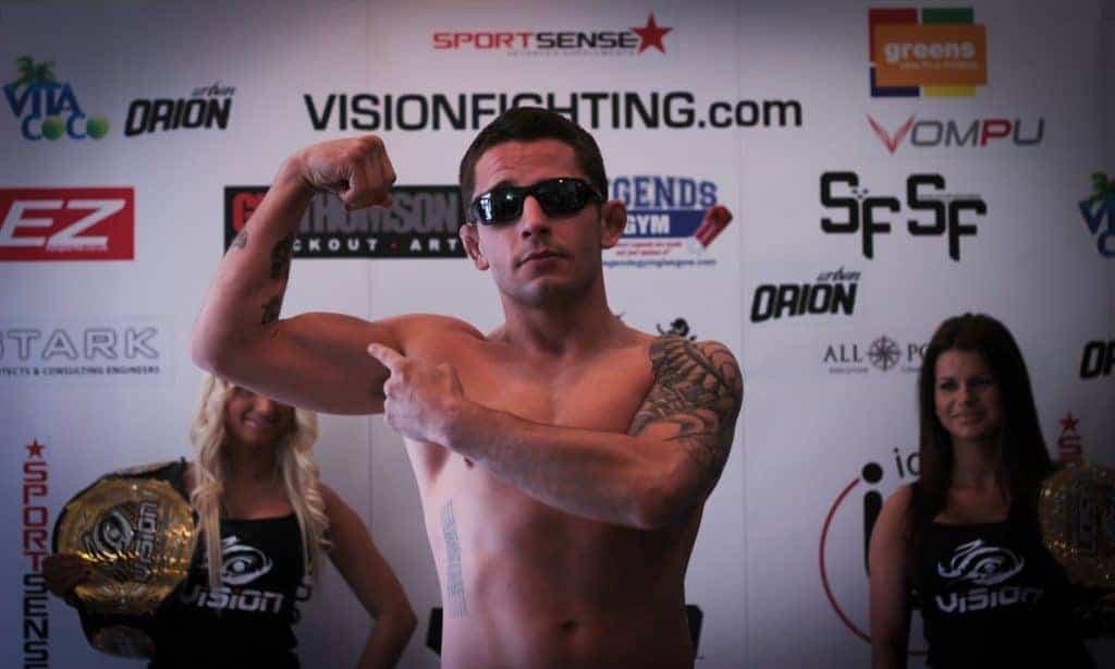 MMA Cutting Weight